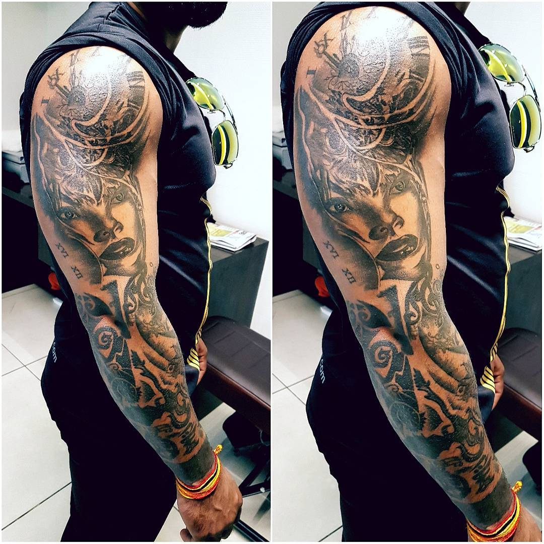 45 Artistically Express Yourself Through Full Sleeve Tattoo