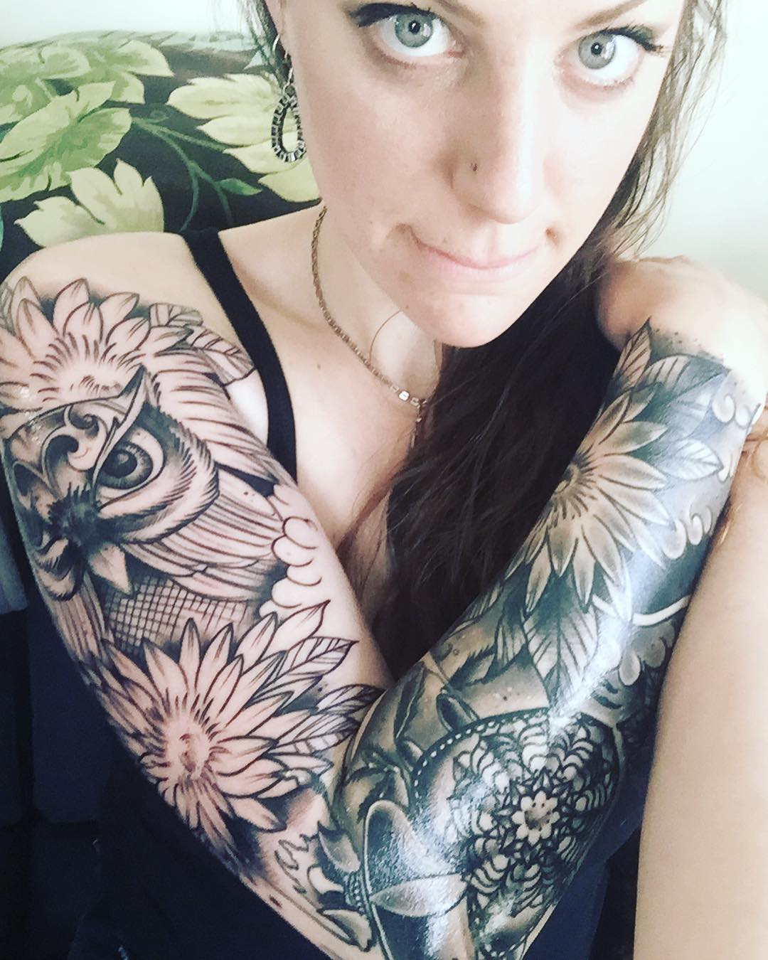 Tattoo Woman Photo: 45 Artistically Express Yourself Through Full Sleeve