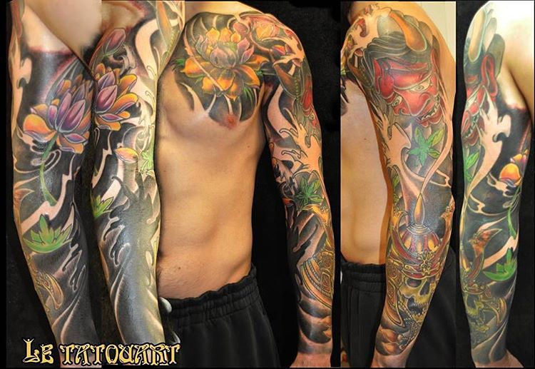 45 Artistically Express Yourself Through Full Sleeve