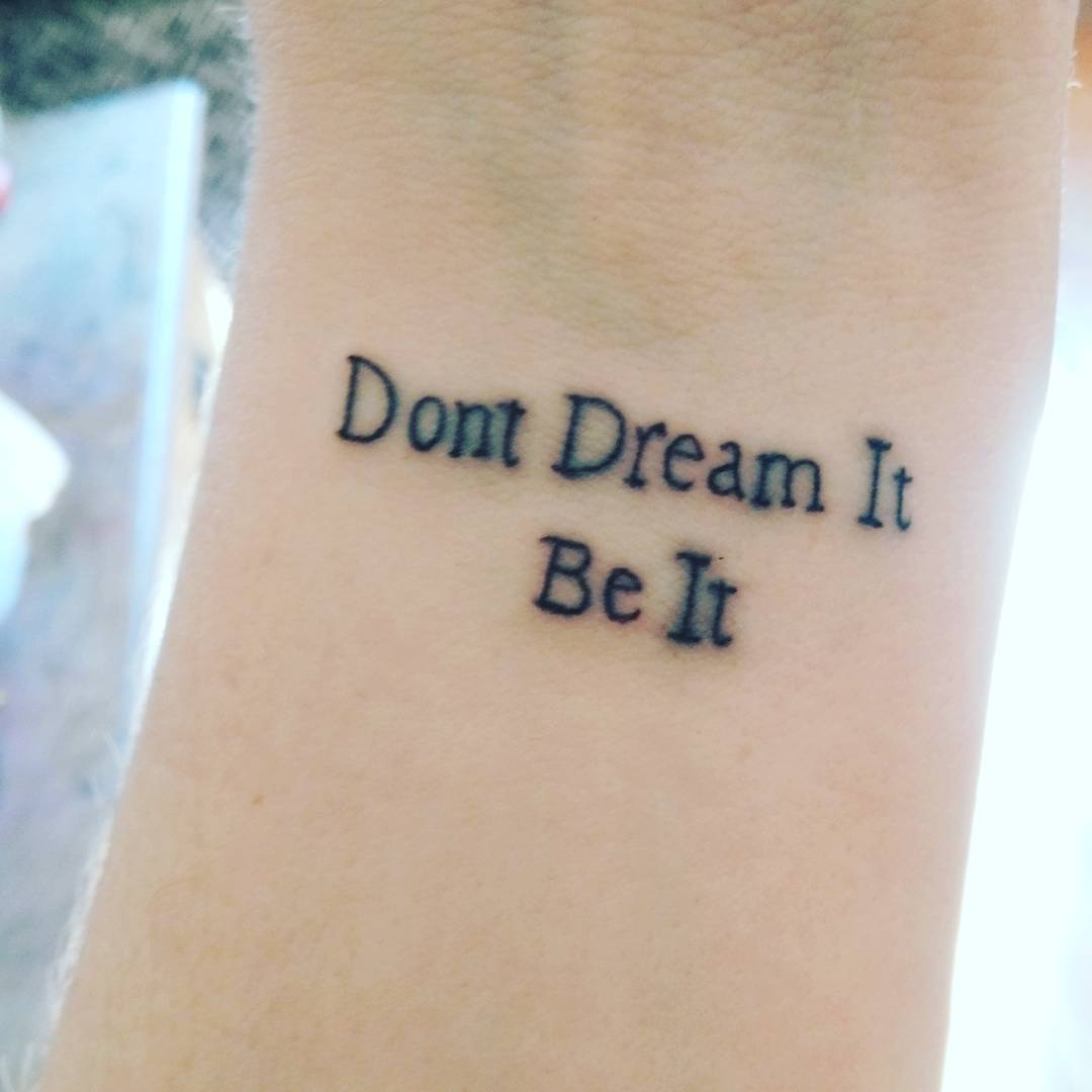 Quotes Tattoos Be Motivated With 55 Inspirational Quote Tattoos For Girls