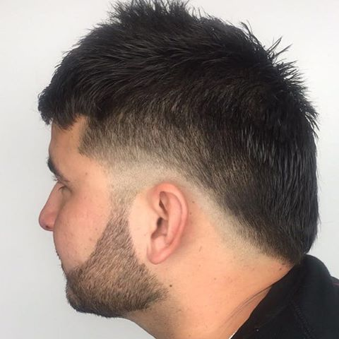 30 draw attention with funky faux hawk hairstyles fade fauxhawk beard beardstyle haircut hairstyles menshair urmus Gallery