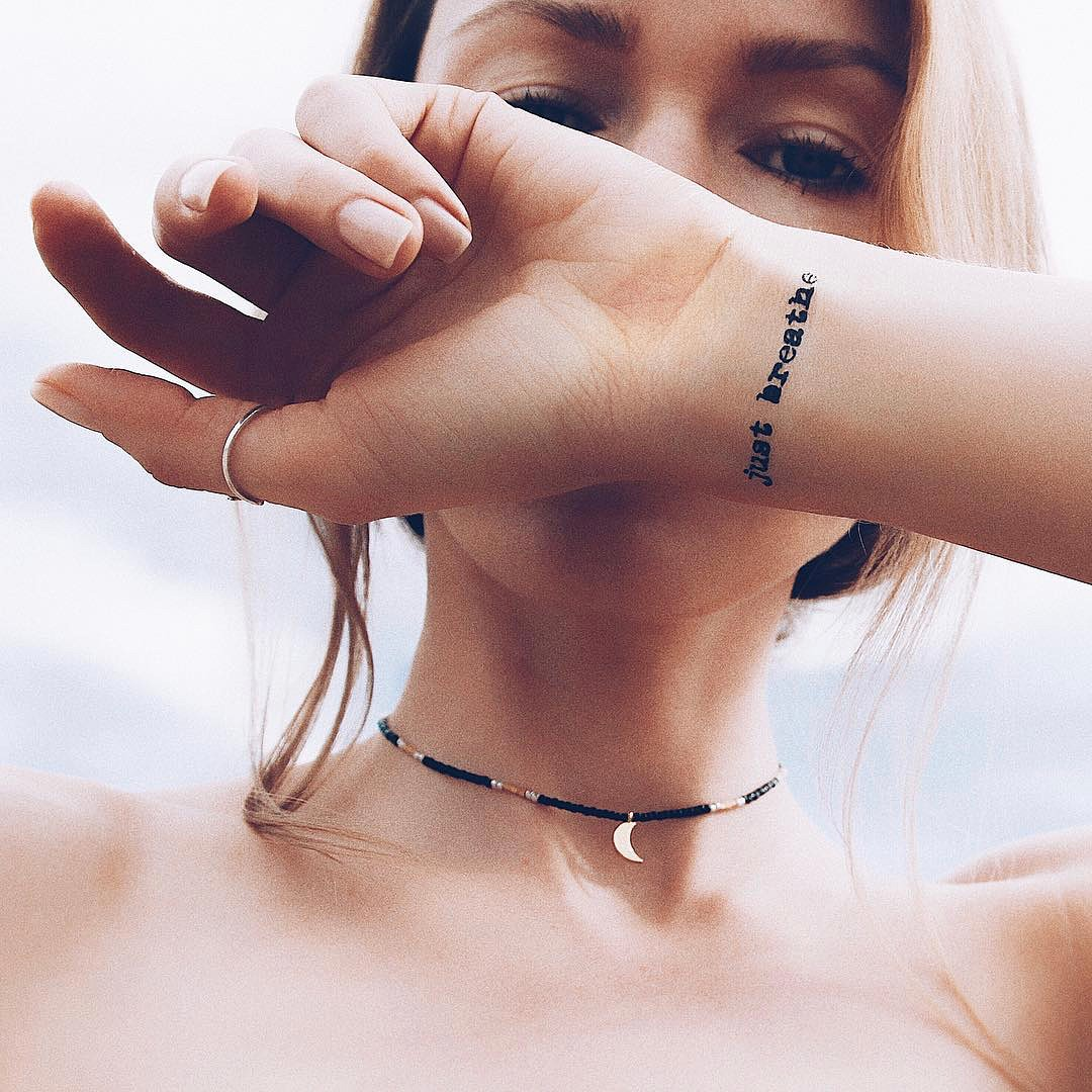 45 Tattoo Quote Ideas For Women: Be Motivated With 55 Inspirational Quote Tattoos For Girls