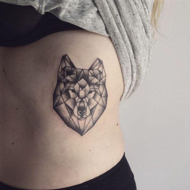 877d9ced4 ... #tattoos #geometrictattoo #wolftattoo #wolftattoos #tattoo #inspiration  #tattooart #tattoogirl ...