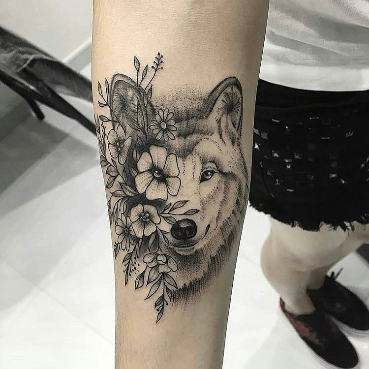 Womens Wolf Tattoo Thigh Tattoos Women Wolf Womens Thigh: 50 Make A Powerful Style Statement With Wolf Tattoos Ideas