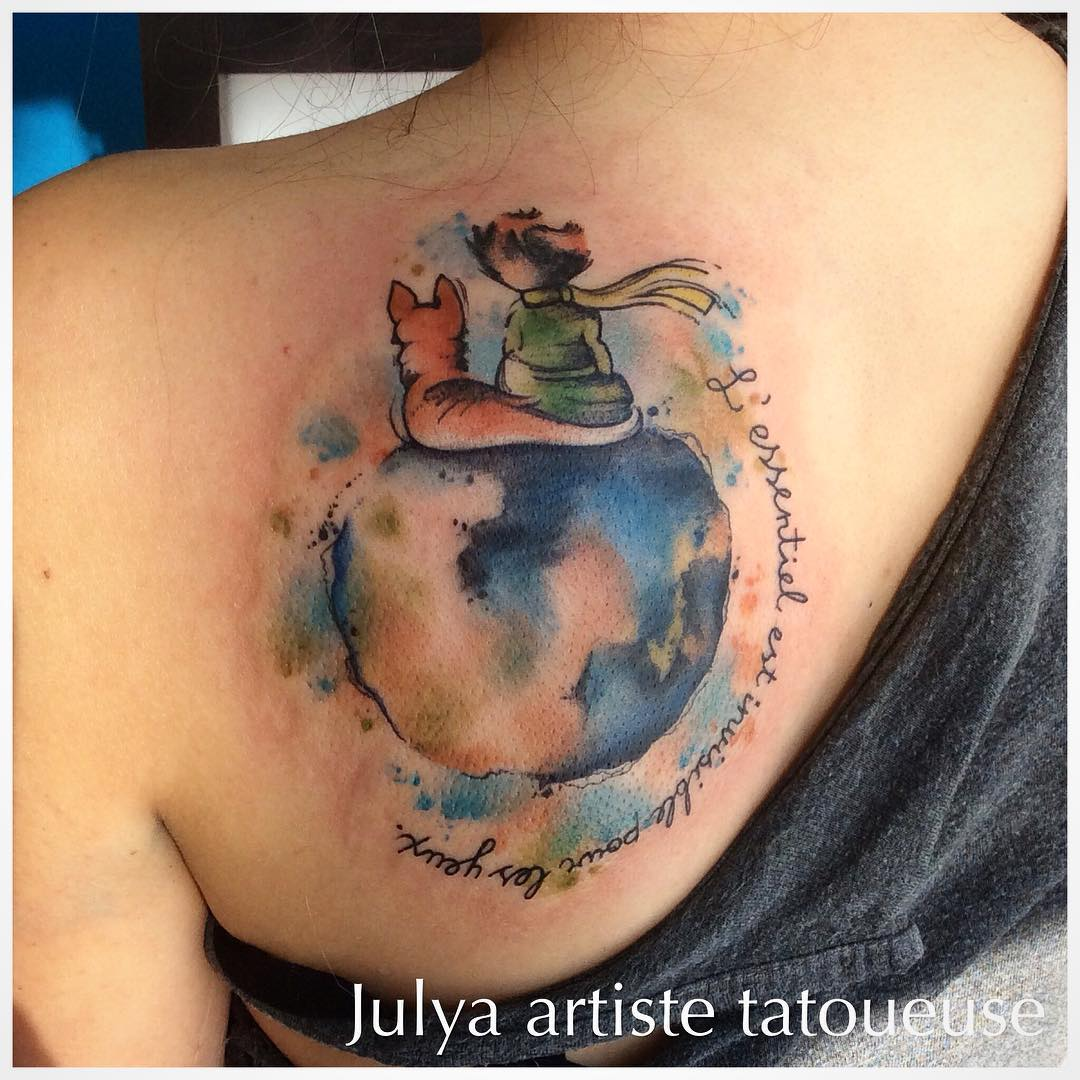 Little Prince Tattoo Designs
