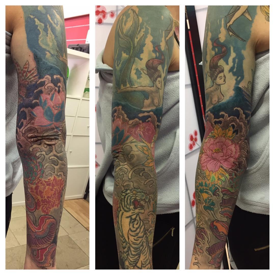 Full Sleeve Tattoo Drawings