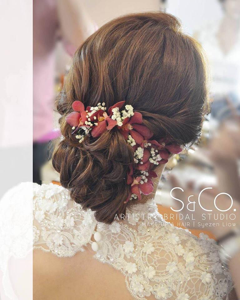 20 Wedding Hairstyles With Flowers: 60 Engaging Wedding Hairstyle With Fresh Flowers That Will