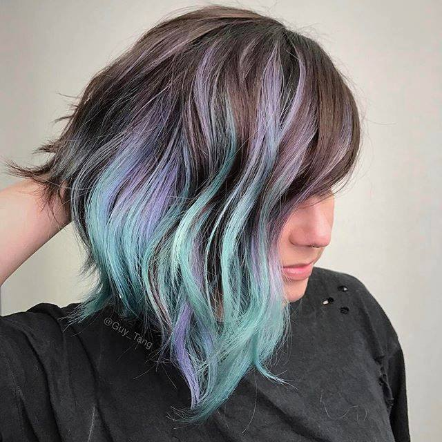 50 About To Become Trendy Geode Hair Color Ideas