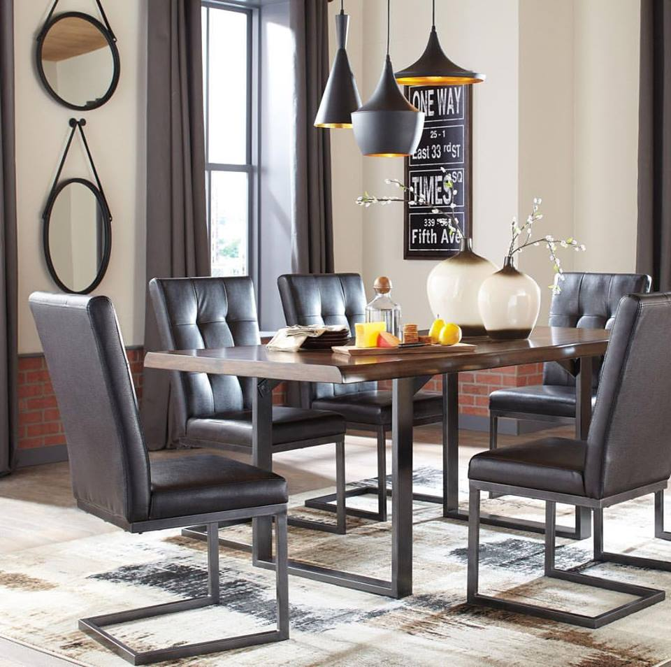 IndustrialStyle Dining Room Chairs  Industrial Home