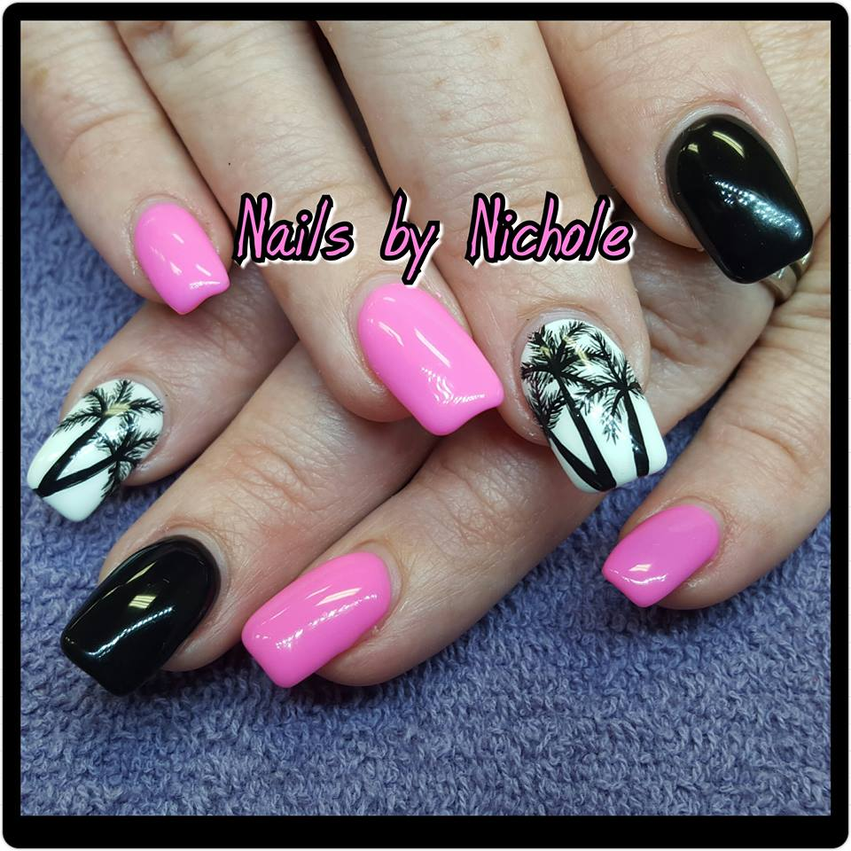 52 Uber Cool Beach Manicure Ideas That Aces Up Your Beach Look