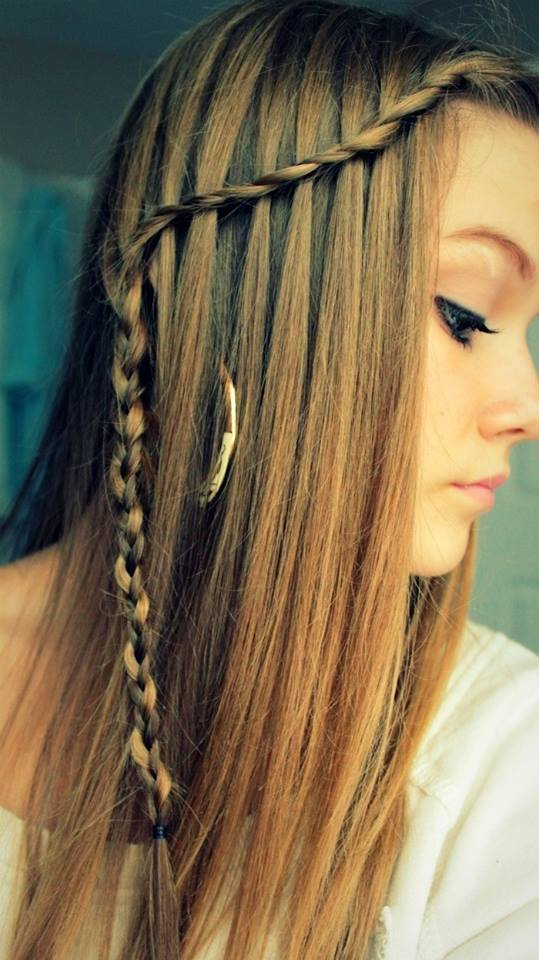 trendy edgy  easy hairstyles  straight hair