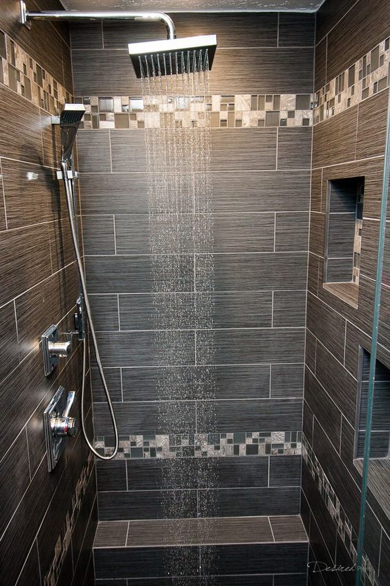 luxury shower system - Luxury Tile Showers
