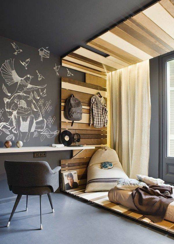 Teen Bedroom Ideas For Small Rooms: 40 Quirky Teen Boys Room Ideas Which Are Totally Amazing