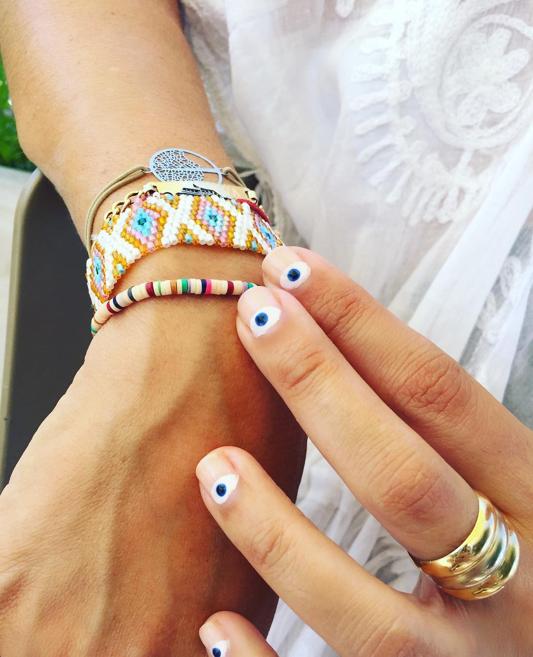 40 Awesome Boho Nail Art Ideas to Adorn Your Nails With