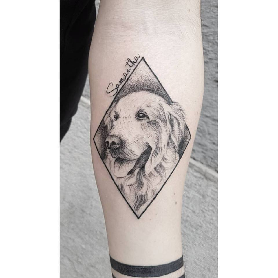 50 Cute Dog Tattoo Ideas For Men Who Loves Dogs Gravetics
