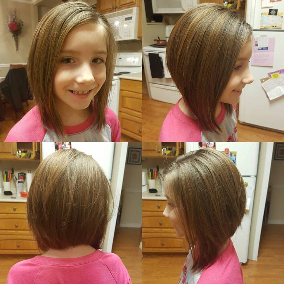 Side haircuts for girls