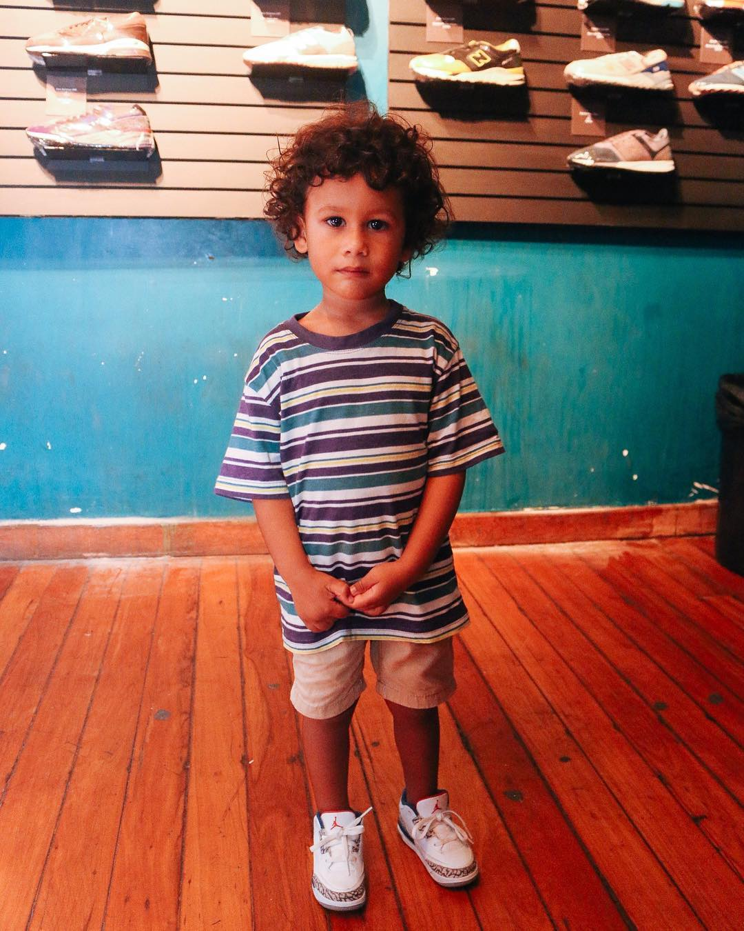 45 Adorable Little Boy Sneaker Outfits to Jazz-Up His Look
