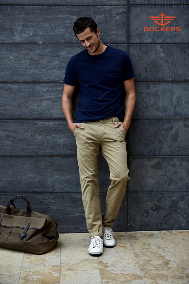 Mens White Jeans Outfit