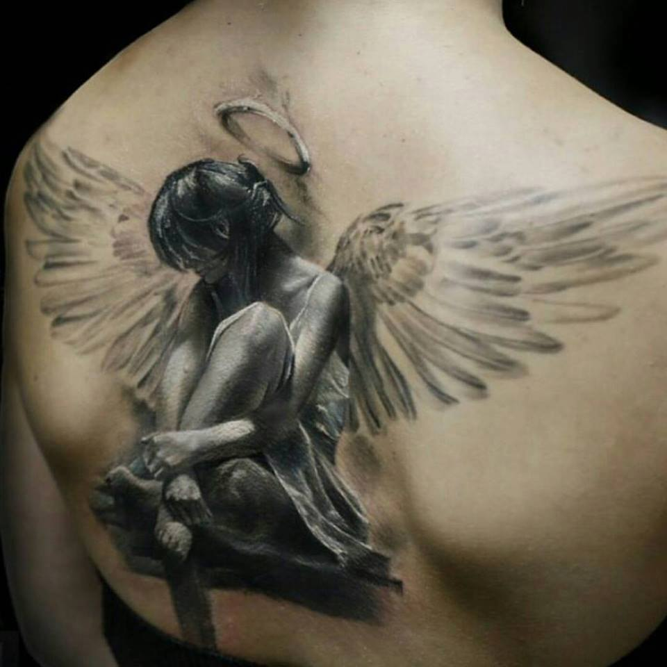 65 Best Images About 3d Tattoos For Girls Pinterest On: 50 Amazing Angel Tattoo Designs That Come With Powerful