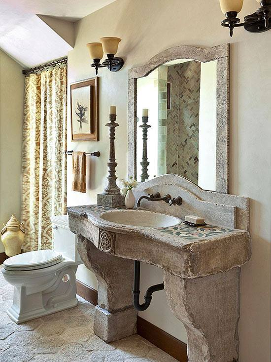 Natural Stone Tile Design Ideas