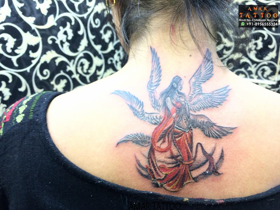 634046fb0 50 Amazing Angel Tattoo Designs That Come With Powerful Meanings