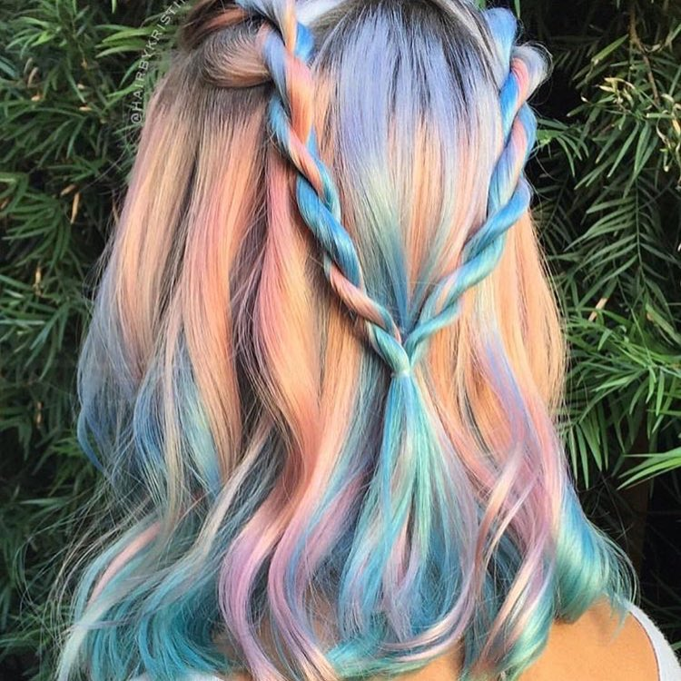40 iridescent holographic hair coloring ideas to make your hair adorable holographic hairs adorably stylish holographic hairs amusing holographic hairs solutioingenieria Images