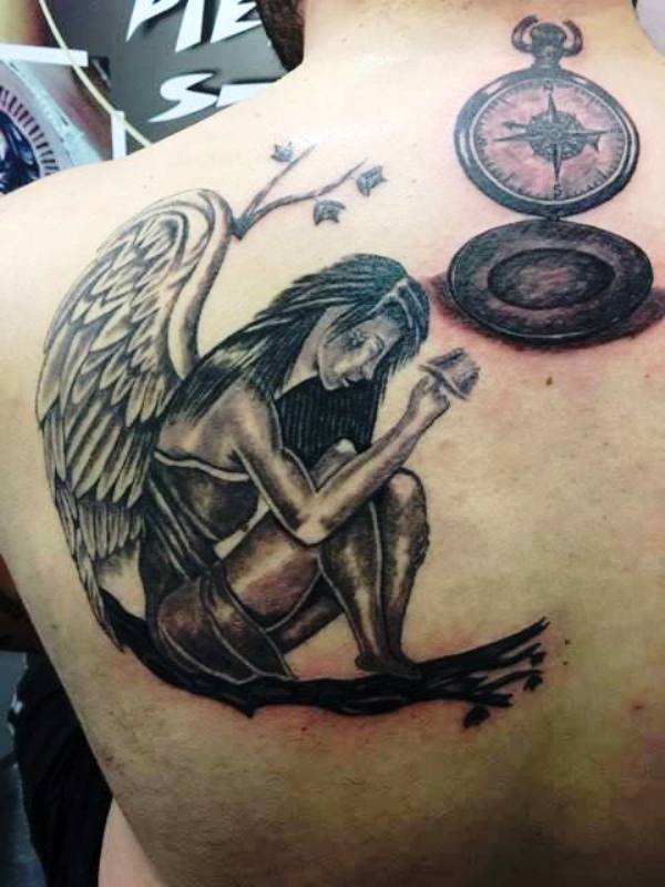 50 Amazing Angel Tattoo Designs That Come With Powerful Meanings