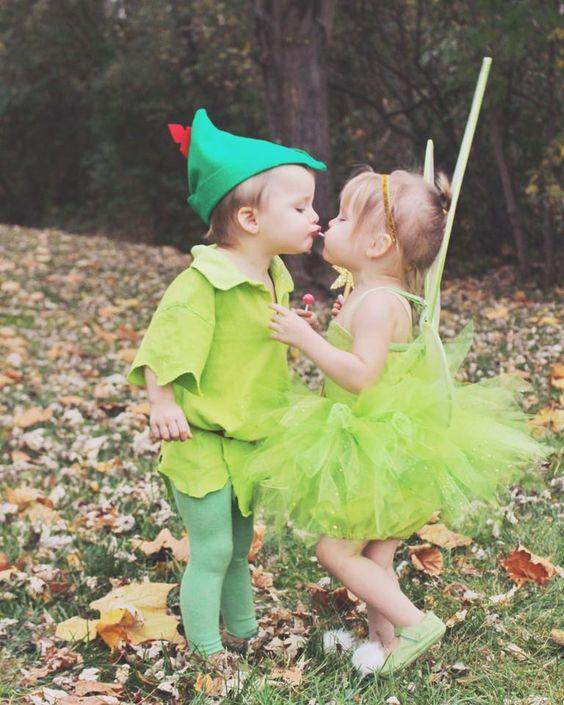 Peter Pan & Trilly