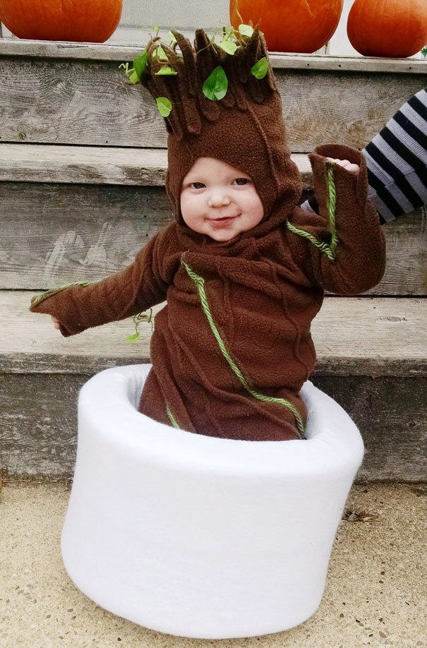 ... Baby halloween-costumes ...  sc 1 st  Gravetics & 50+ Adorable Baby Wearing Halloween Costumes To Make You Go Aww