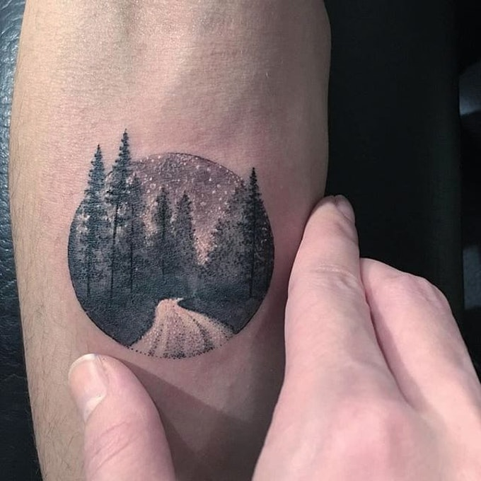 ed823dd4cf746 40 Circle Tattoo Ideas That Can Depict Your Whole Imagination ...