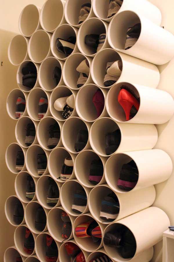 Best Ideas About Shoe Storage Clever DIY Shoes Storage Ideas ...