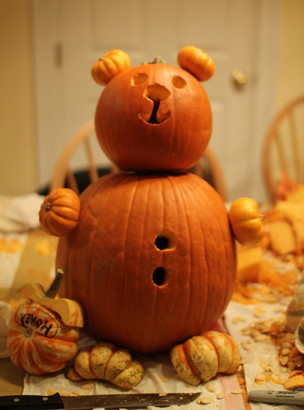 Cute Pumpkin Carving: 30 Interesting Pumpkin Carving Ideas For Halloween To Make
