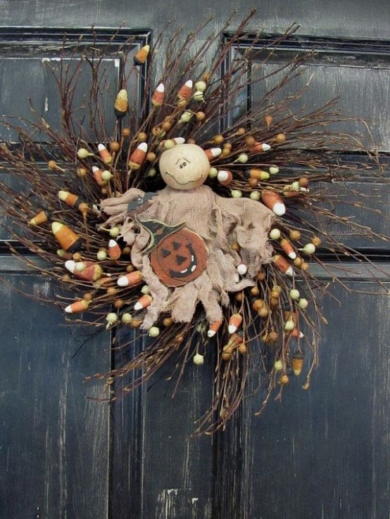 diy halloween decorations - Rustic Halloween Decorations