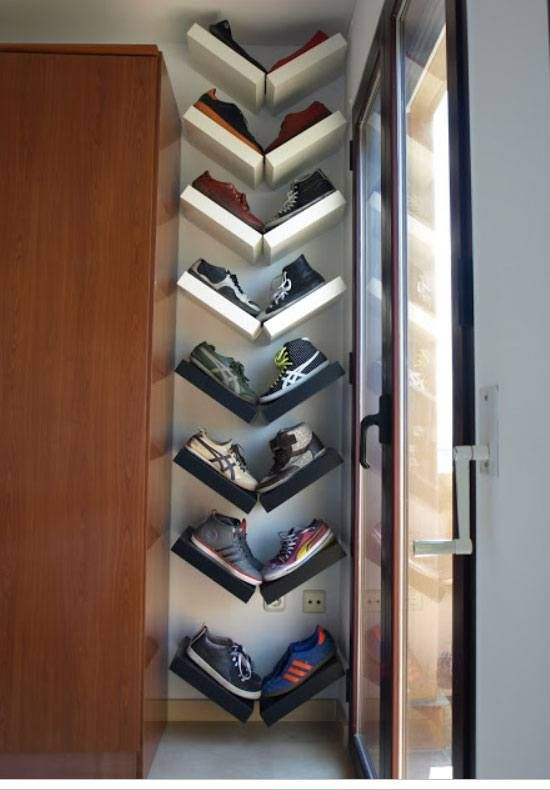 Diy Shoe Storage Ideas For Small Es