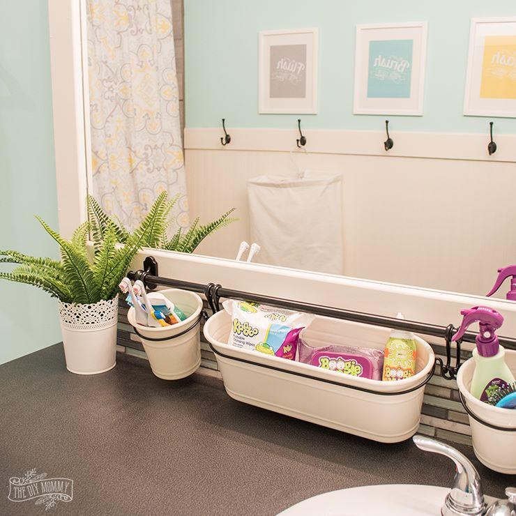 Gender Neutral Kids Bathroom Bath