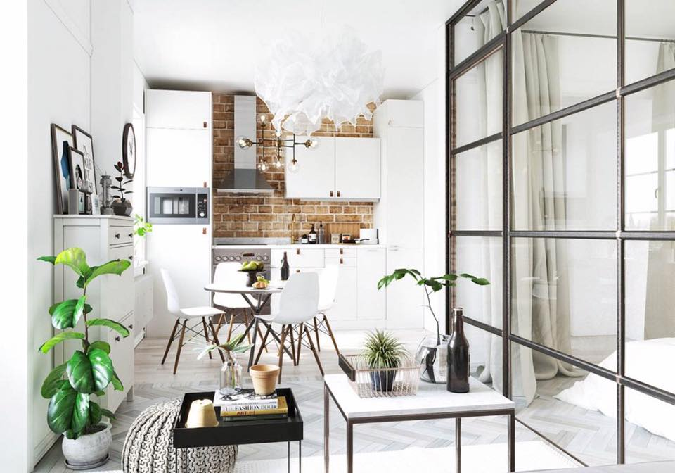 Cool And Cozy Studio Apartment Design Ideas For The