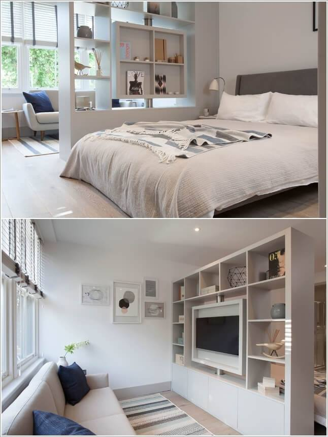 Small Study Room: 45 Cool And Cozy Studio Apartment Design Ideas For The