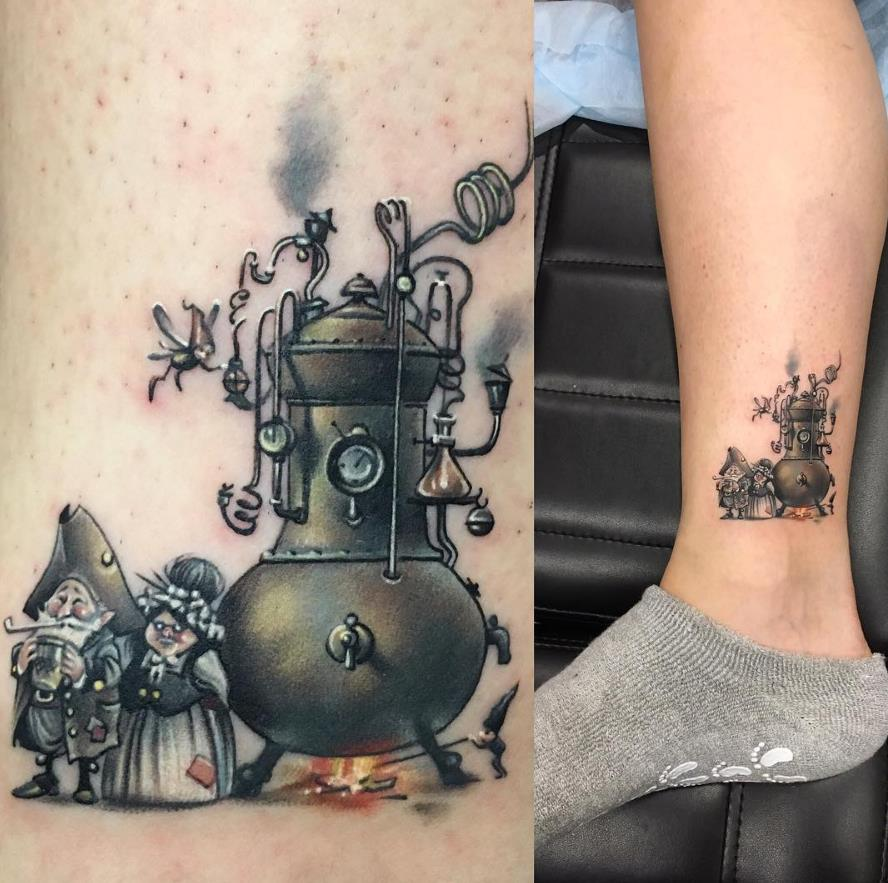 45 Youthful Cartoon Tattoo Designs That Keep You A Child