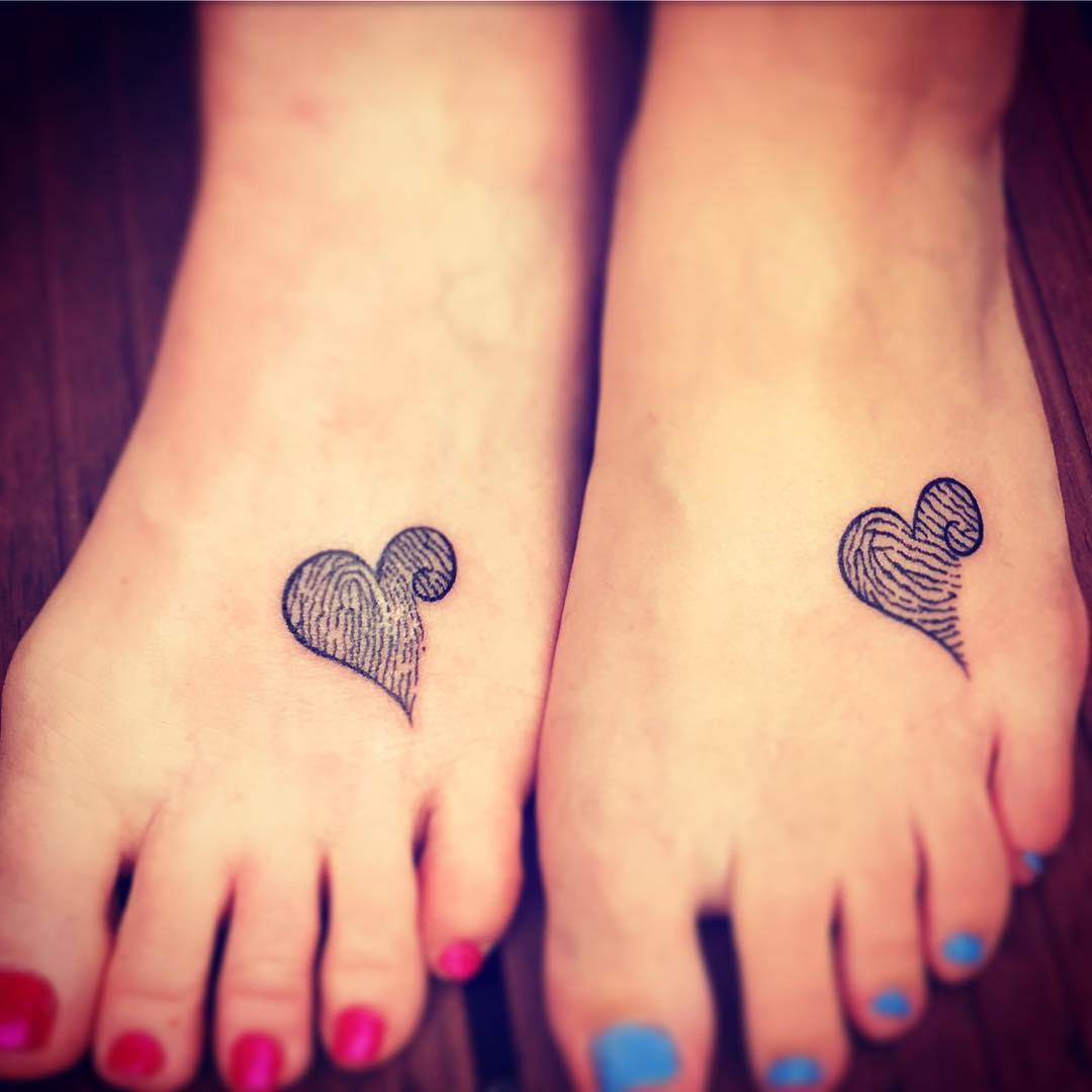 51 Adorable Mother-Daughter Tattoos To Let Your Mother How