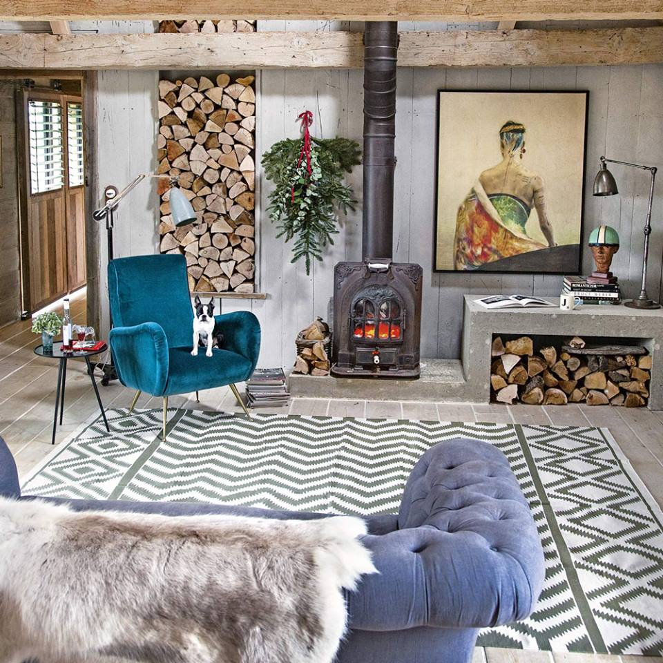 50 Lively And Inspiring Rustic Living Room Decorating