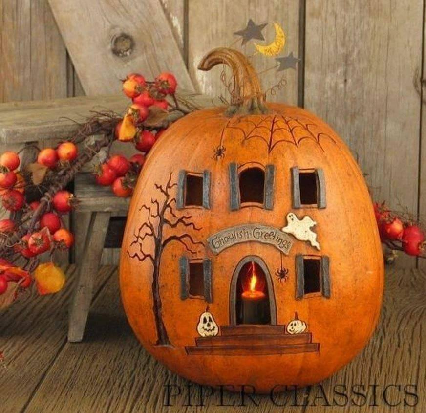 Small Pumpkin Decorations: 40 Innovative And Fantastic Pumpkin Decoration Ideas For
