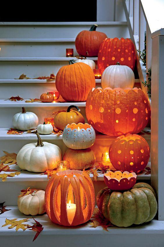 30 interesting pumpkin carving ideas for halloween. Black Bedroom Furniture Sets. Home Design Ideas