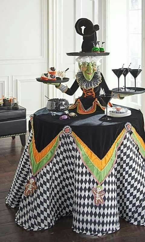 35+ Halloween Table Decoration Ideas That Are Shockingly Fun