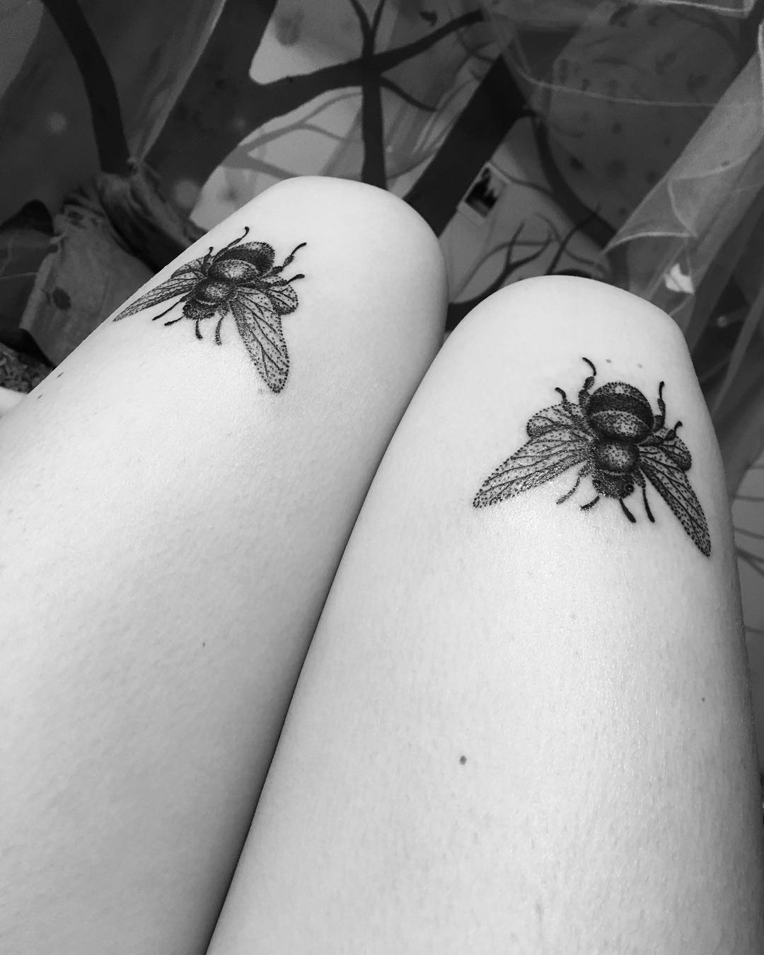 40 perfectly symmetrical tattoo designs that are so glamorous you cannot resist them. Black Bedroom Furniture Sets. Home Design Ideas
