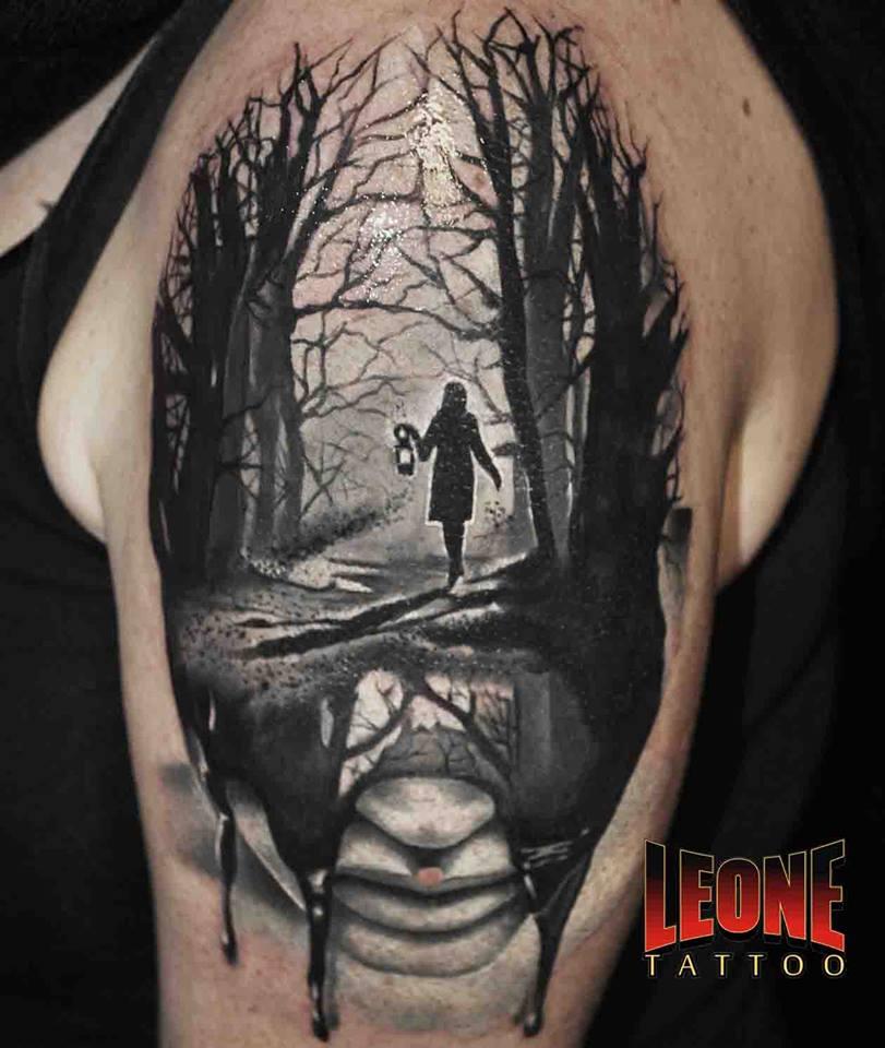 45 Mesmerizing Surreal Tattoos That Are Wonderful