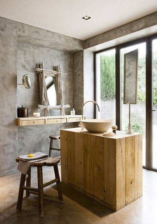 Marvellous Rustic Contemporary Bathrooms Contemporary - Best Image ...