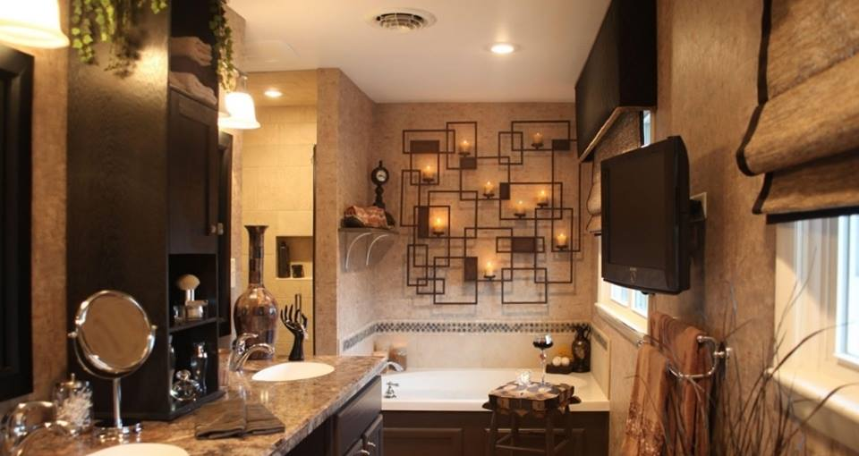 Rustic Bathroom Decorating Ideas: 45 Vintage And Rustic Bathroom Designs For Homes With