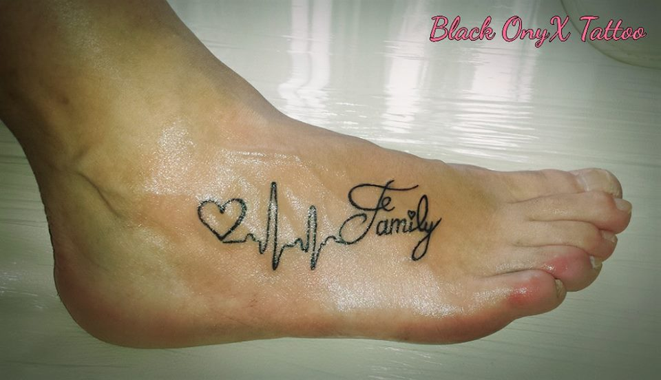 Mind Blowing Family Tattoo