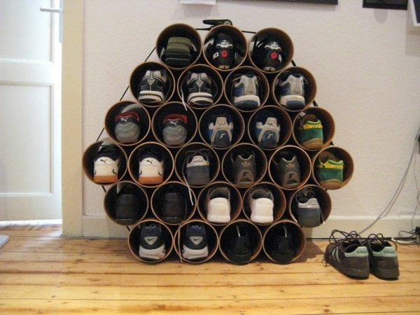 Shoe Storage Solution Adver