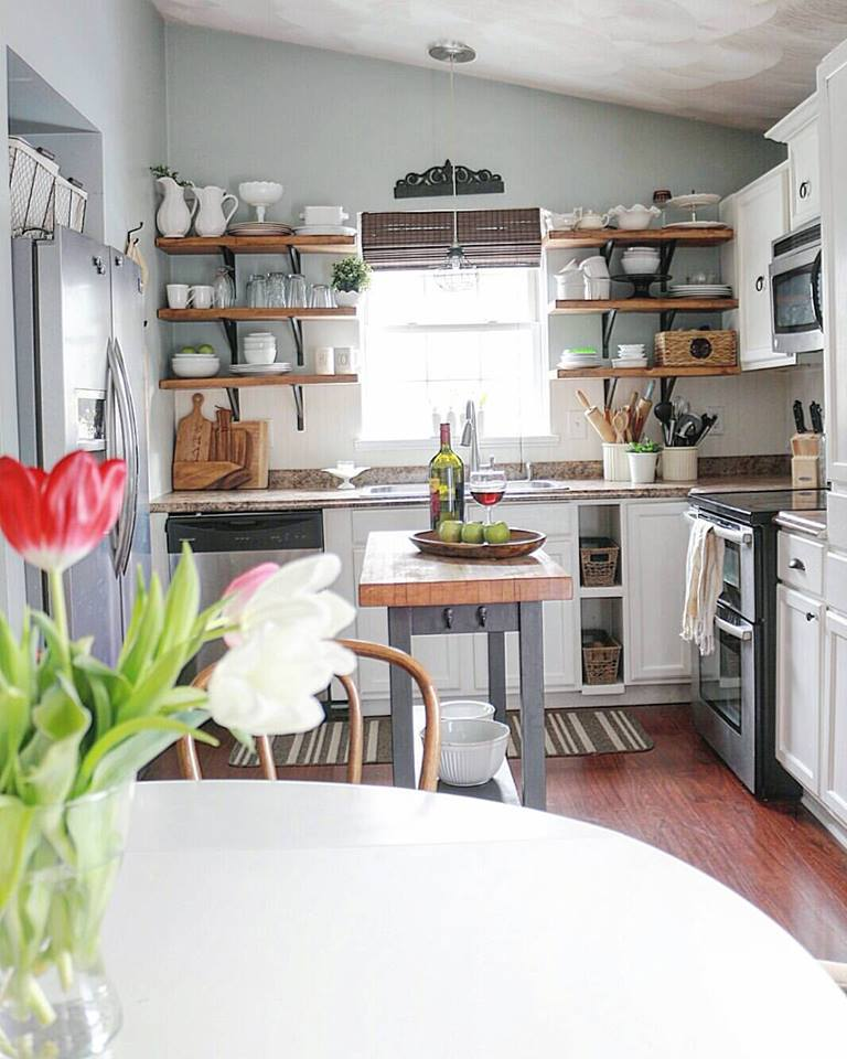 45 Innovative Tiny Kitchen Decorating Ideas That You Will